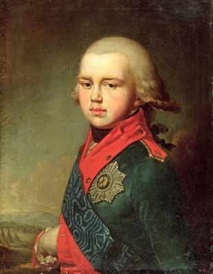 Portrait of Grand Duke Konstantin Pavlovich