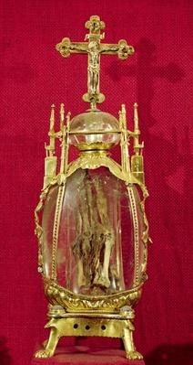 Reliquary containing the hand of St. Attalia