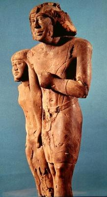 Anonymous couple known as the Memphis Couple, Old Kingdom