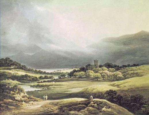 View of Dunloe Castle, Killarney, 1805