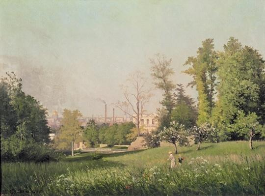 In the Park at Issy-les-Moulineaux, 1876