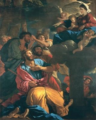 The Apparition of the Virgin the St. James the Great, c.1629-30