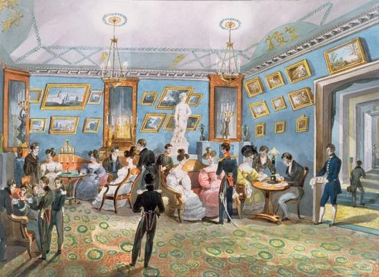 A Society Drawing Room, c.1830