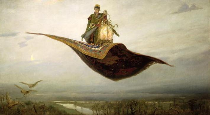 The Magic Carpet, 1880