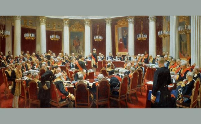 The Ceremonial Sitting of the State Council, 7th May 1901
