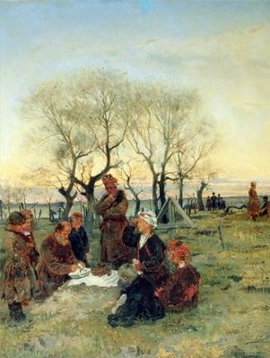 Funeral Repast at the Grave, 1884