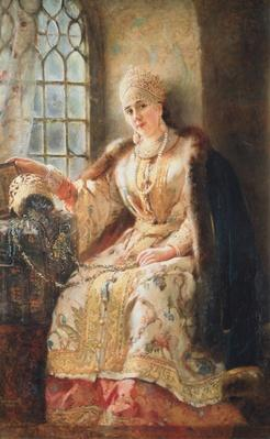 Boyar's Wife at the Window, 1885