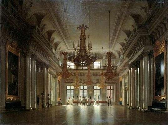 The Hall of the Field Marshal in the Winter Palace