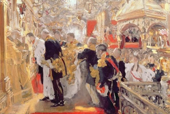 The Crowning of Emperor Nicholas II