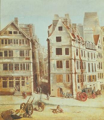 The Cabaret 'A l'Image Notre-Dame', Place de Greve in 1751