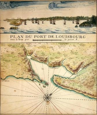 Plan of the Port of Louisbourg