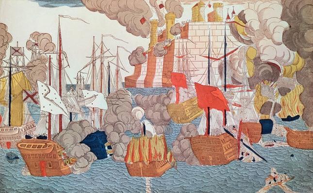 The Siege of Navarino, 20th October 1827