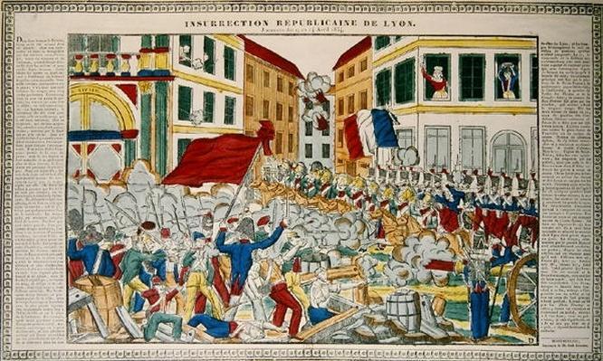 Republican Insurrection in Lyon, 9th-14th April 1834