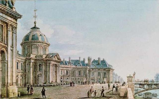 View of the College des Quatre Nations, Paris, c.1810