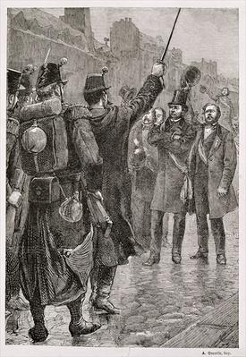 The Arrest of Victor Schoelcher