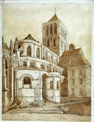 Abbey Church at Fecamp, Normandy, c.1817-20