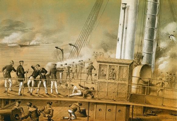 Admiral Amedee Anatole Courbet
