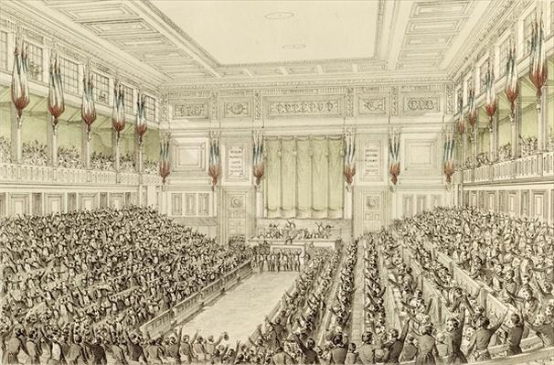 First Meeting of the National Assembly, 4th May 1848