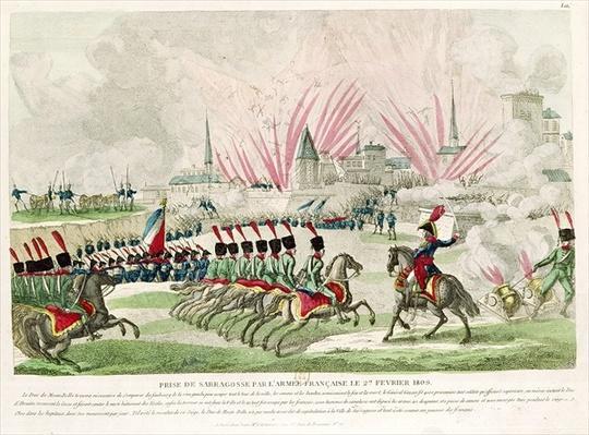 The Siege of Zaragoza by Jean Lannes