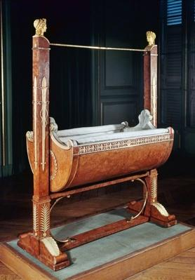 Rocking cradle of the King of Rome, from Saint-Cloud, 1811-15