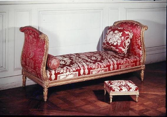 Couch belonging to Louis XVI