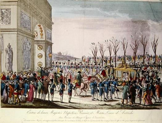 The Entrance of Emperor Napoleon I