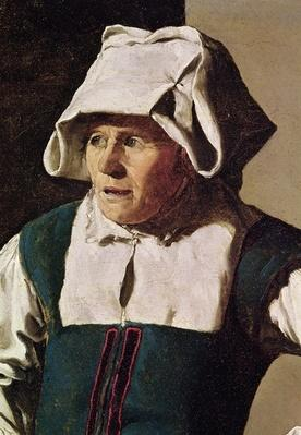 Old Woman, detail of the head, c.1618-19