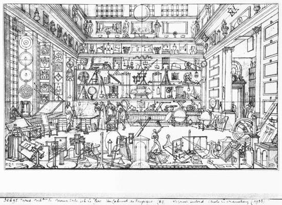 Cabinet of physics, 1687