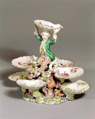 Derby table centrepiece, 1760-65