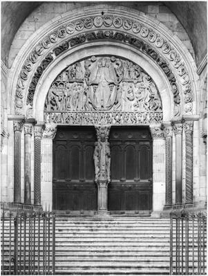 Tympanum with the Last Judgement from the West Portal