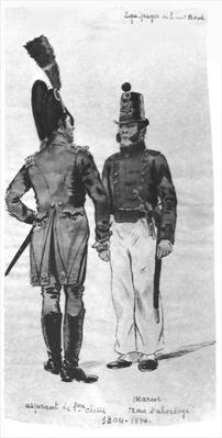 Costumes of French Marines from 1804 to 1814