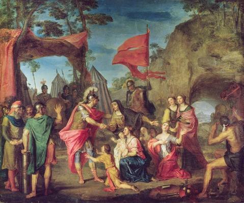 Coriolanus in the Volscian Camp, 1747