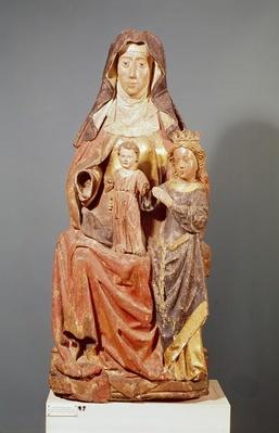 St. Anne, the Virgin and Child, 15th-16th century