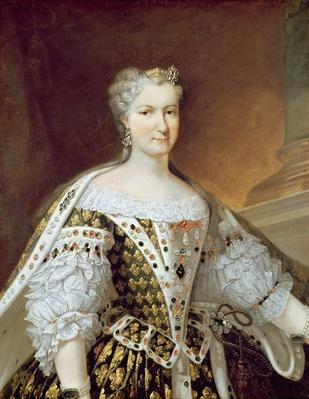 Portrait of Maria Leszczynska, Queen of France and Navarre