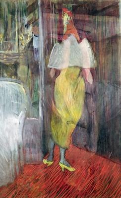 Woman Entering a Box at the Theatre, 1894