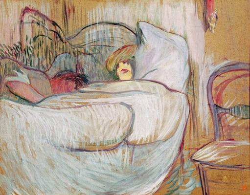 In Bed, 1894