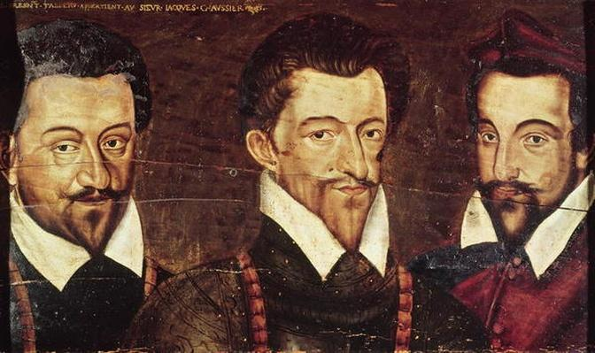 Portraits of Three Dukes of Guise