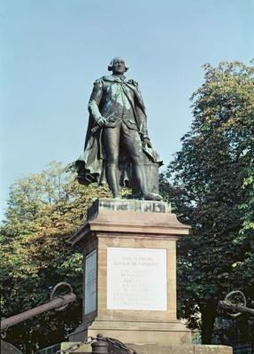 Statue of Jean Francois de Galaup