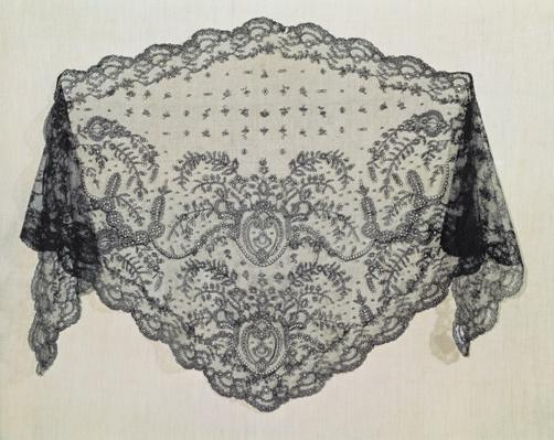 Shawl, Puy Workshop, c.1850