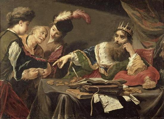 Croesus Receiving a Tribute from a Lydian Peasant, 1629