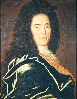 Portrait of Cheronnet, ceremonial driver to Louis XIV