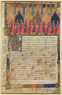 The Aldermen of Toulouse, 1369