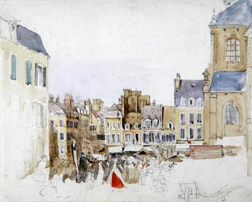 A French Market Place, c.1829