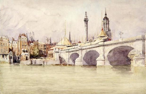 London Bridge, 1831