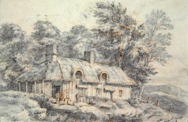 Cottage in Herefordshire, c.1820