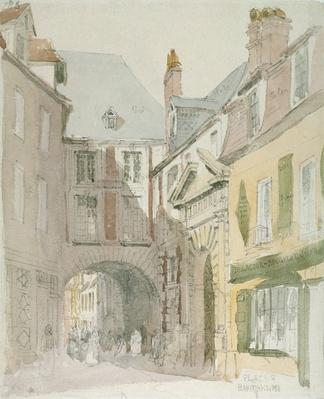 Place Barthelme, Paris, c.1829