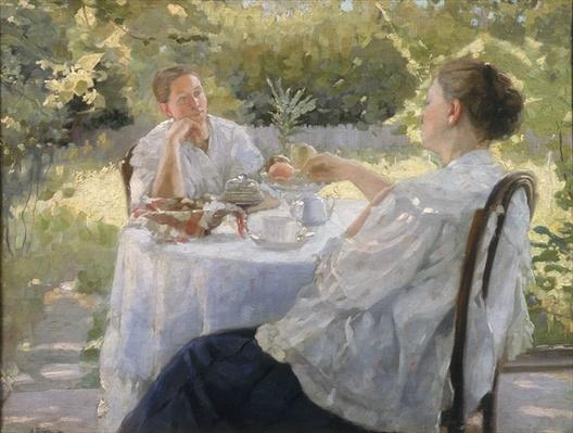 In the Garden, 1911