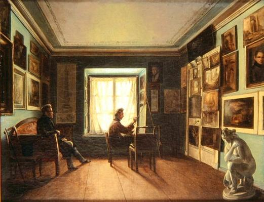 The Painter's Studio, c.1820