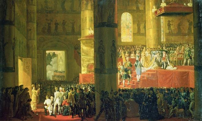 The Coronation of the Empress Maria Fyodorovna