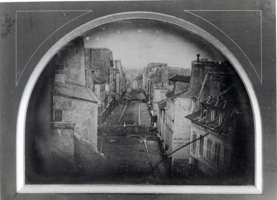 Barricades in Rue Saint-Maur-Popincourt, 25th June 1848
